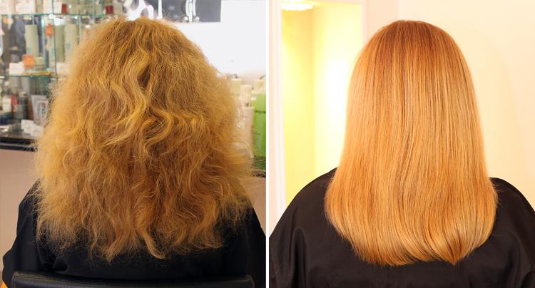 Жёсткий волос как сделать мягче